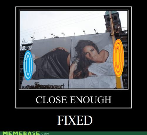 Ad fixed hilarious portals wtf - 6376385792