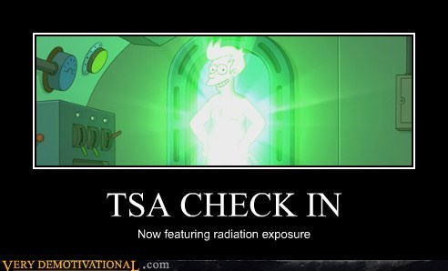 fry,futurama,hilarious,radiation,TSA