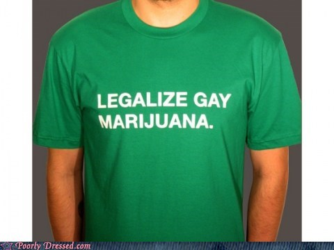 clever,gay,marijuana,rainbows,shirt