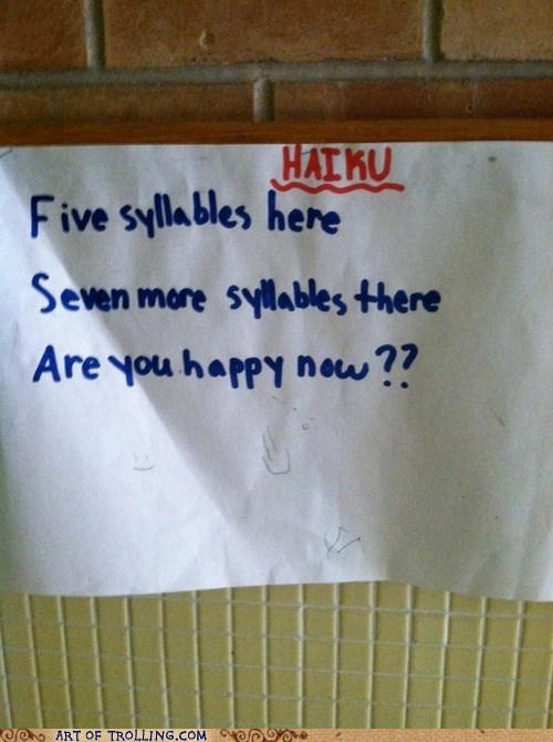 haiku IRL truancy story - 6376874240