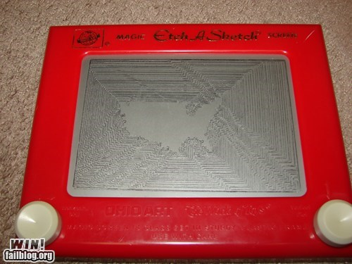 america design Etch A Sketch usa