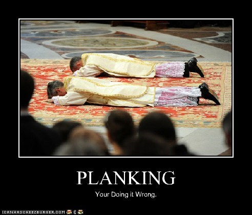 PLANKING Your Doing it Wrong.