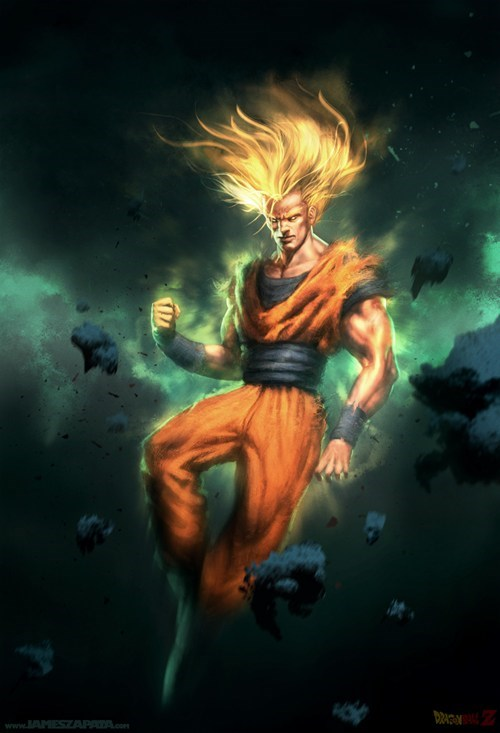 cartoons Dragon Ball Z Fan Art goku - 6377084160
