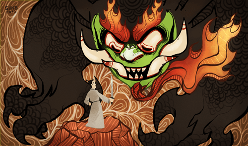 aku cartoons Fan Art samurai jack - 6377086976