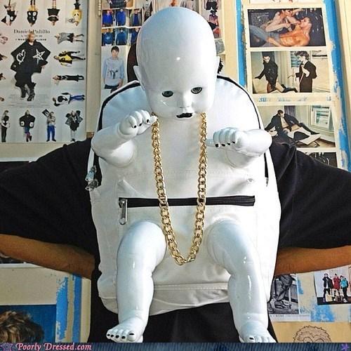 baby backpack creepy weird - 6377429504