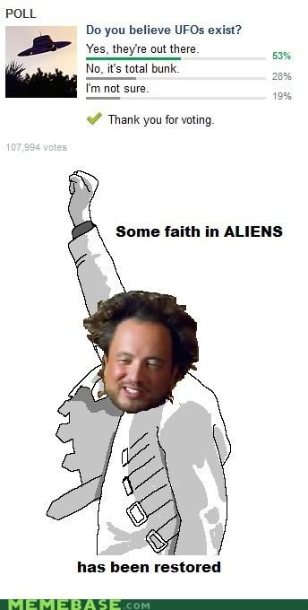 america ancient aliens faith in humanity Rage Comics UFOs - 6377717248