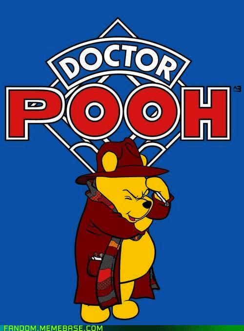 crossover doctor who Fan Art scifi winnie the pooh - 6377833984