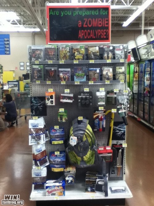best of week endcap g rated Hall of Fame shopping Walmart win zombie apocalypse zombie