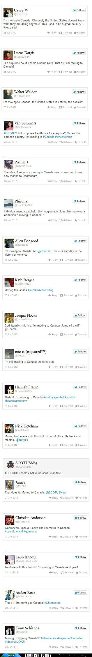 Canada,engrish funny,Hall of Fame,healthcare,moving to canada,obamacare,scotus,socialized medicine,Supreme Court