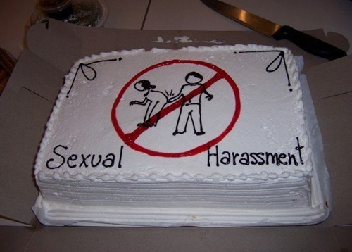 cake,company policy,sexual harassment