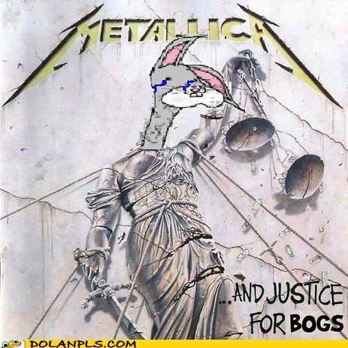 album cover,bogs,justice,metallica