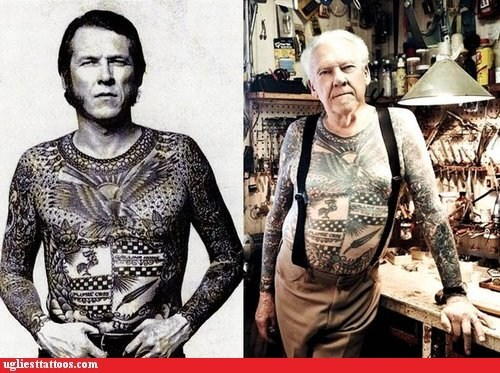 Before And After,shirt tattoos,suspenders