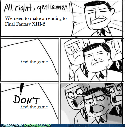 Final Fantasy XIII-2,meme,RPG,square enix