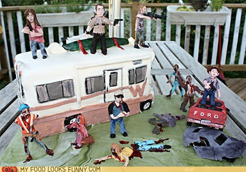 amc camper characters TV The Walking Dead zombie
