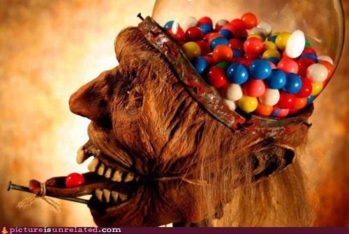 gumball head machine mummified nightmare fuel wtf - 6378853120