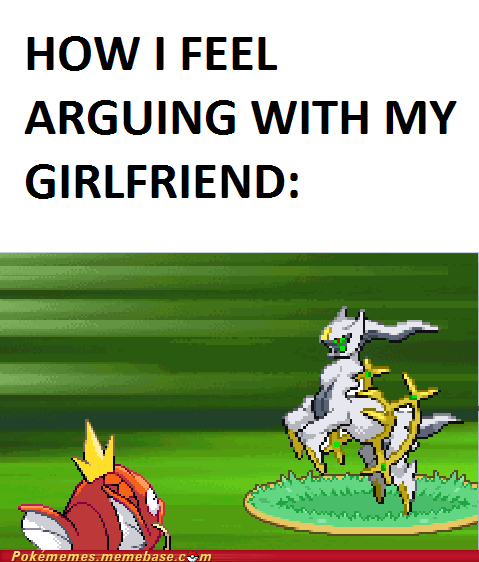 arceus couples girlfriend IRL magikarp splash - 6378921216
