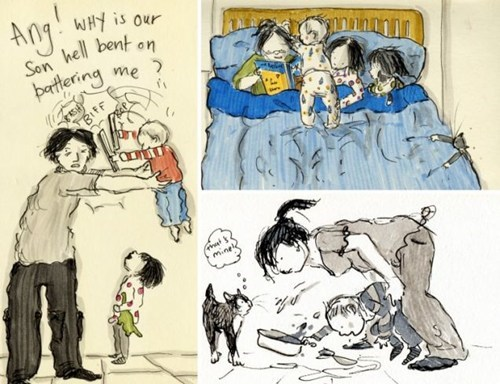 doodlemum illustrator illustrator mom kickass mom - 6379013120