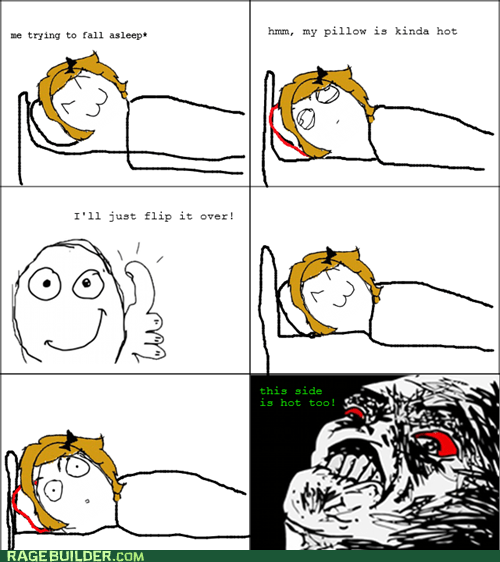 pillow rage
