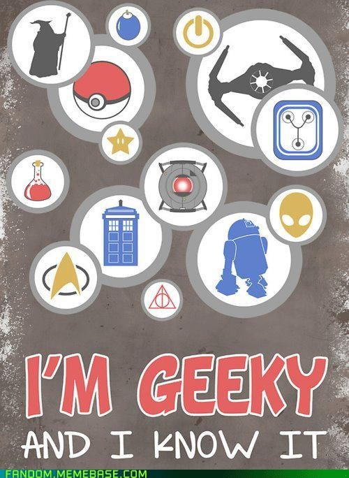Fan Art geek nerd pride scifi video games - 6379167488