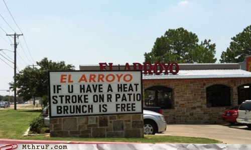 bunch,heatstroke,stroke,el arroyo,restaurant,deals,monday thru friday,g rated