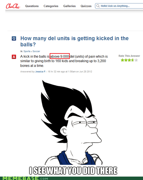 balls fry I see what you did there over 9000 vegeta - 6379359232