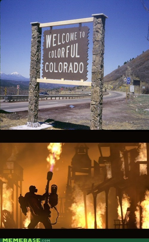 Colorado colorful Memes pyro team fortress vacation
