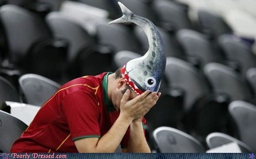 fan fish hat mask sports - 6379546368