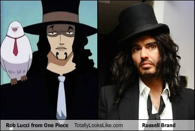 actor,anime,celeb,funny,Hall of Fame,one piece,rob lucci,Russell Brand,TLL