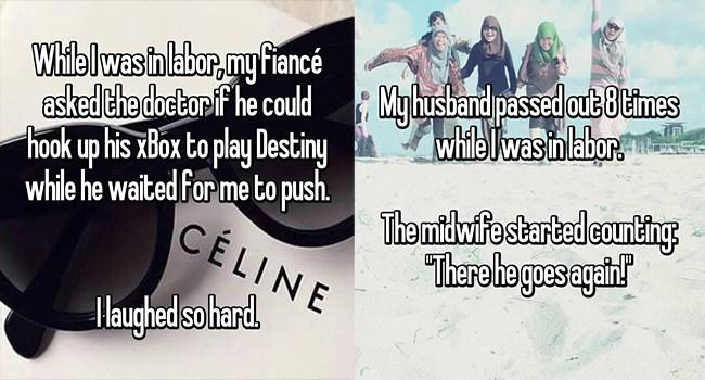labor lol confession cheezcake funny weird women - 6380037