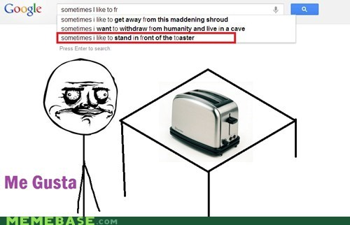 google,me gusta,stand,toaster,warmth
