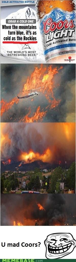 coors hmm rockies troll face wild fire - 6380291072
