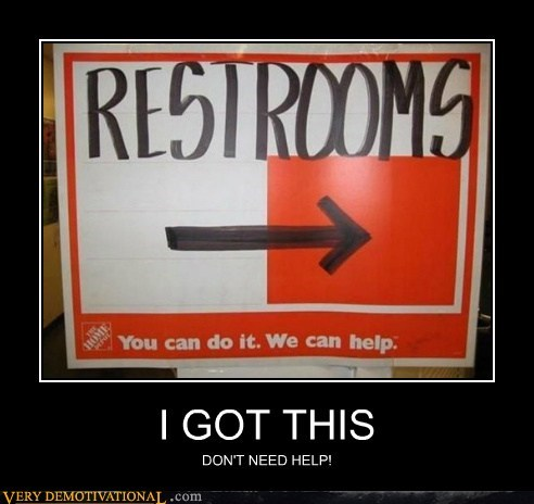 got this hilarious home depot restroom - 6380379648
