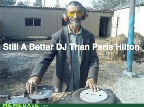 dj,hipsterlulz,homeless,pairs hilton