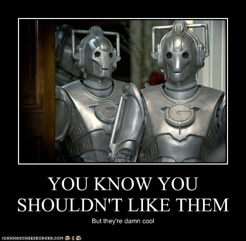 cool,cybermen,doctor who,shouldnt,upgrade
