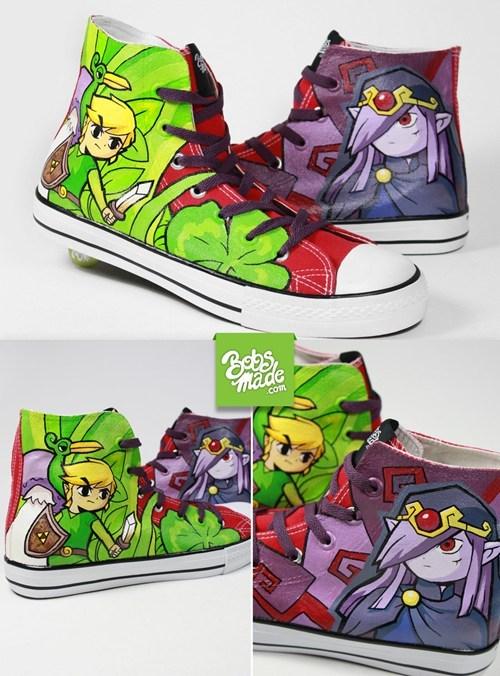 Fan Art legend of zelda shoes video games - 6381133568