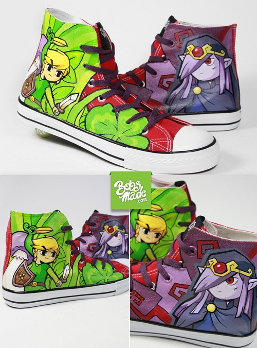 Fan Art legend of zelda shoes video games - 6381133568
