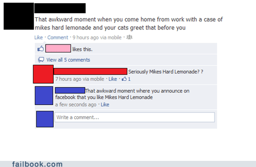 that awkward moment,mikes-hard-lemonade