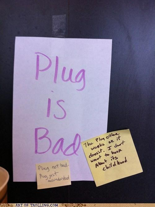IRL misunderstood plug sign - 6381290752