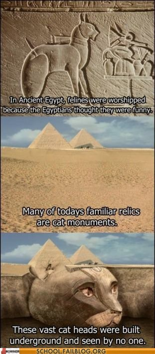 ancient egypt cat facts class is in session History 320