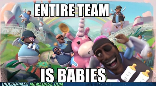 Babies,diapers,pyrovision,Team Fortress 2,the internets