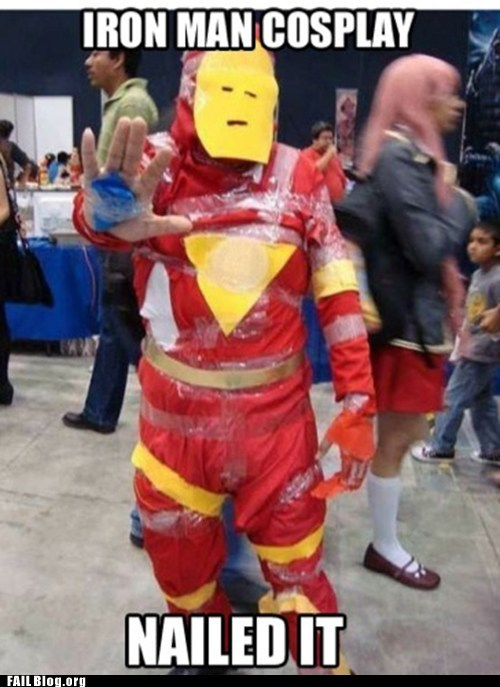 cosplay costume iron man