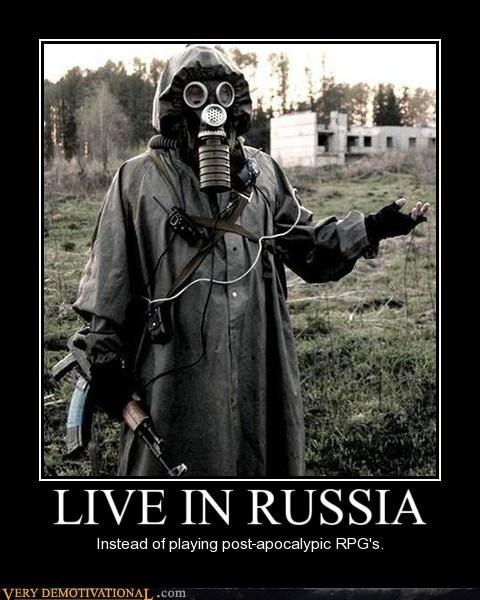 coat gas mask hilarious post apocalypse russia - 6381691392