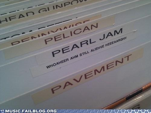 grunge,Pearl Jam,store