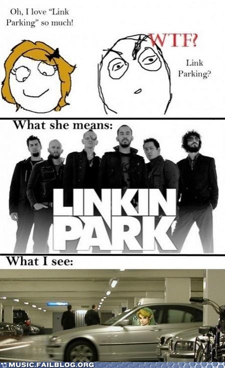 link linkin park rage comic sister video games zelda