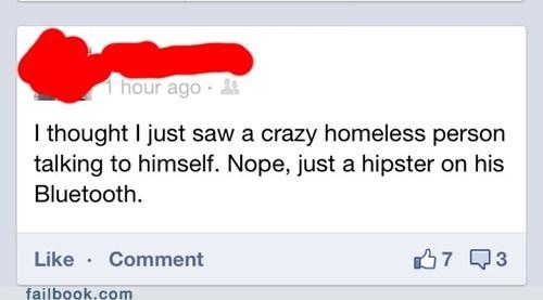 bluetooth hipster homeless - 6381919232