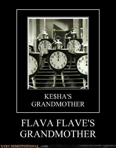 flava flave grandma hilarious kesha - 6382007552