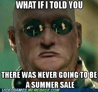 meme steam summer sale valve