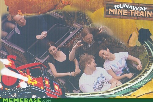 cute,IRL,oh you,roller coasters