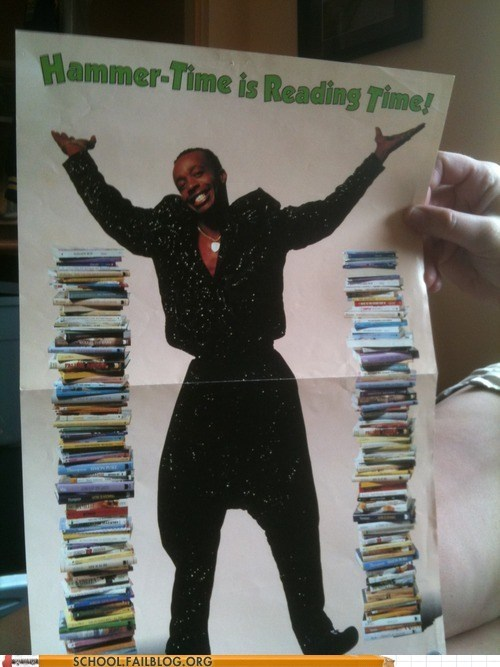 hammer time,mc hammer,mutually exclusive,reading time