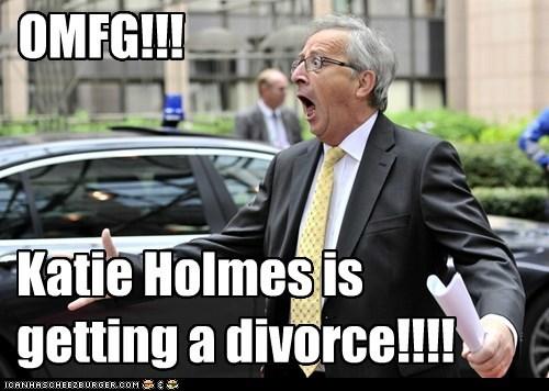OMFG!!! Katie Holmes is getting a divorce!!!!